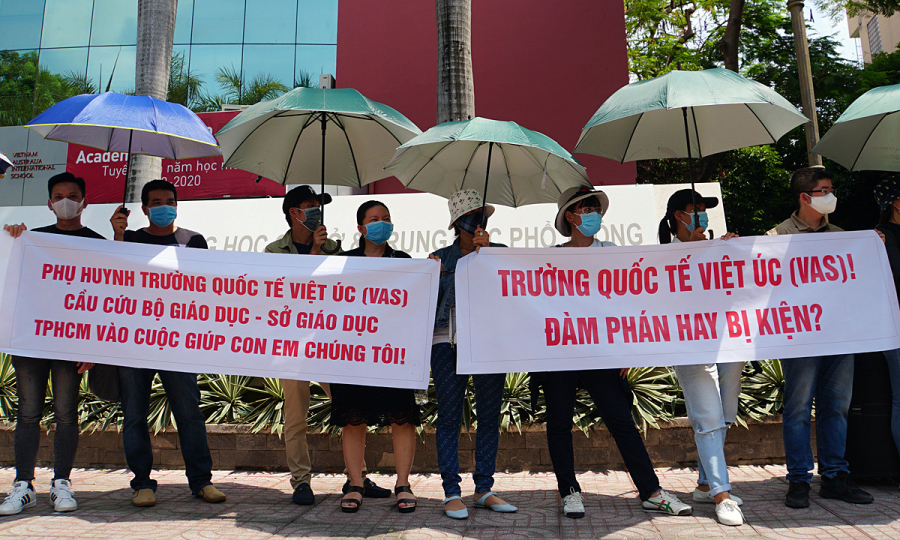 HCMC international school expels students over tuition fee squabble