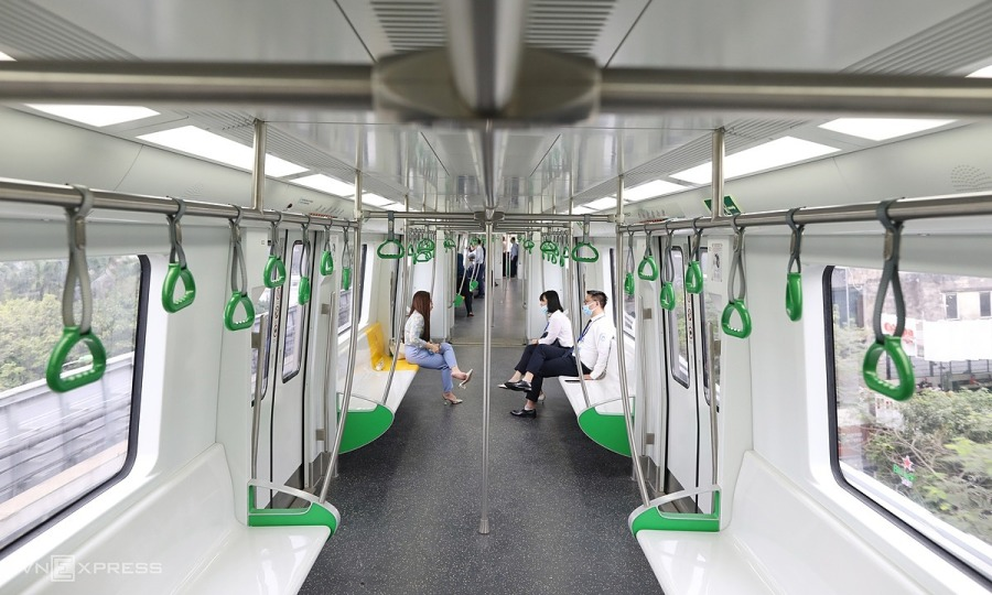 Hanoi's first metro to operate 18 hours a day