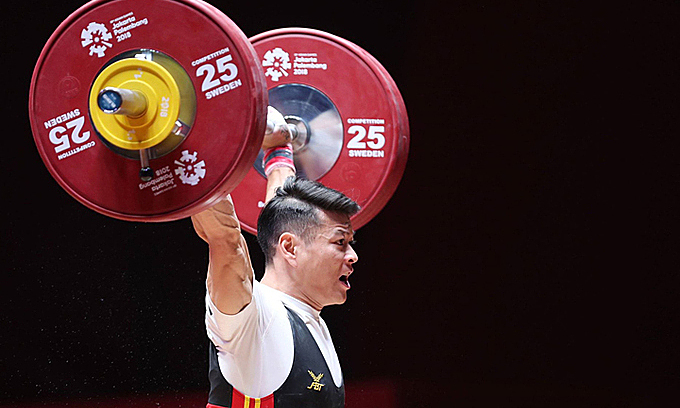Vietnamese weightlifters set the bar for Olympic medals