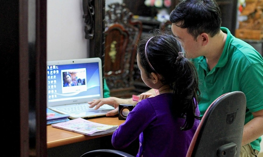 Parents have hands full juggling work, childcare, kids' well-being